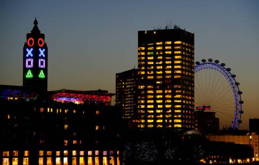 London's+OXO+Tower+undergoes+a+dramatic+transformation+to+celebrate+the+build+up+to+the+UK+launch+of+PlayStation®4+and+the+arrival+of+the+PS4+Lounge+4ThePlayers+-31
